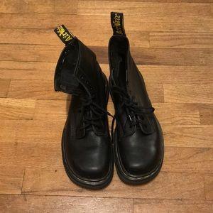 Rare square toed dr. Martens